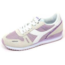 C9016 sneaker donna DIADORA TITAN II W scarpa avorio/lilla shoe woman