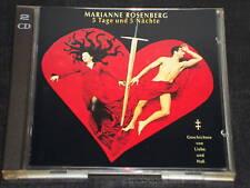 Marianne Rosenberg 5 giorni & 5 notti 2 CD 's 29 titolo Marleen estraneo uomo (YZ)
