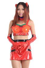 Neon Genesis Evangelion Cosplay Costume Soryu Asuka Langley Racing Outfit V1 Set