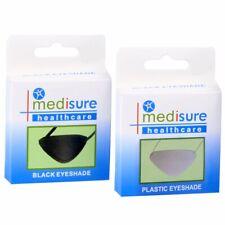 FABRIC/PVC MEDICAL EYEPATCH Washable Eye Bandage Protection Cover Elastic Patch