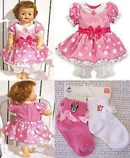 Disney Store Minnie Mouse Dress Costume or 4 PR Socks or Dress & 2 PR Socks SALE