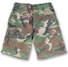 US BDU Short import woodland, camouflage Bermuda, MIL-TEC