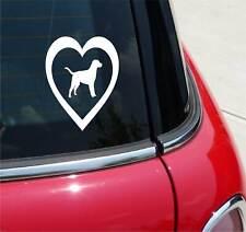 Lab In Heart Labrador Retriever Love My Pet Dog Graphic Decal Sticker Decor