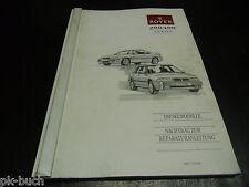 Werkstatthandbuch Rover 200 400 Diesel Stand 1994