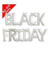 Black Friday vente aluminium Ballons 40.6cm or argent Décorations ballons
