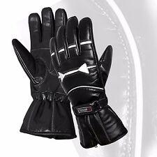 Thermal Motorbike Motorcycle Leather Gloves Waterproof Protection Winter