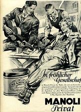 Manoli--In fröhlicher Gesellschaft--Exportdose--Werbung von 1932-