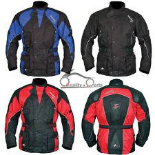 Akito Python Motorcycle Motorbike Jacket Waterproof CE Armour Thermal Liner
