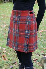 New Scottish Shetland Wool Ladies Billie Kilt - Flora Royal Stewart Size 8 - 16