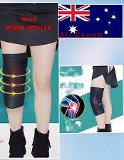 Unisex Winter Wool Padded Sports Knee Support Knee Pad Warmer Elastic Band Brace