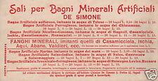 NAPOLI_ISCHIA_IGIENE_SANITARIA_BAGNI MINERALI_DE SIMONE