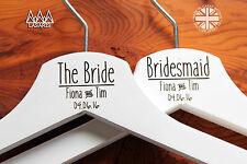 10 Abito Da Sposa Personalizzato Inciso Staffa in legno o bianco-linea di divisione
