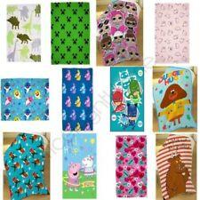 Kids Fleece Blankets Girls Boys - Disney Frozen Toy Story Baby Shark & More