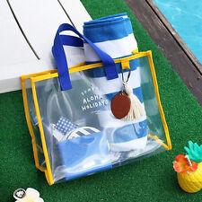 New Travel Swimming Organizer Bag _ 2NUL ALOHA HOLYDAYS Clear Beach Bag