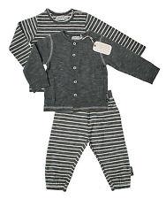 DIRKJE Baby Jungen Set 3-tlg. (Jacke Shirt Schlupfhose) in blau Gr. 56 62 68 74