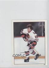 1982-83 Topps Album Stickers #174 Tom Lysiak Chicago Blackhawks Hockey Card