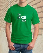 The IRISH Rock Irish St Patricks Day  MENS BOYS GIRLS LADIES FUNNY T-SHIRT