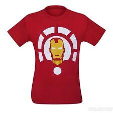 Marvel x Welovefine Iron Man and Arc Reactor Minimalist Men's T-Shirt