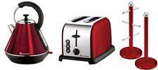 Set of Electric Kettle, Toaster, Mug Tree & Kitchen Roll Holder