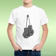 T-Shirt bébé Garçon Gants de Boxe Boxe Vintage Idée Cadeau