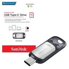SanDisk Ultra 16/32/64/128GB USB 3.1 Type-C Flash Drive-UK