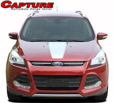 2013-2019 Ford Escape Capture Hood Vinyl Graphics Stripes Decals