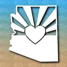 "Arizona State Heart 5"" Custom Vinyl Decal JDM"