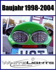 LED Rücklicht Heckleuchte weiss klar Kawasaki ZX 9R ZX9R Ninja clear tail light