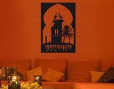 Wandtattoo Marokko Afrika Wohnzimmer Wandaufkleber Couch Flur Wandsticker eff015