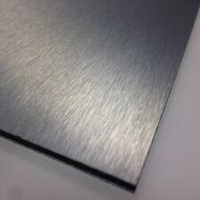 3mm Silver Brushed Dibond ACM Sheet Aluminium Composite 8 SIZES TO CHOOSE