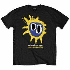 "Primal Scream Screamadelica ""jaune"" T-shirt - nouveau & OFFICIEL!"