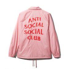 Anti Social Social Club 2017 ASSC I'M READY COACH JACKET Classic Coat Supreme SS