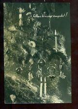 Kellemes Karácsonyi Ünnepeket CHRISTMAS RPPC Postcard