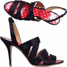 Christian Lacroix sandalo intreccio satin, plot  sandals satin