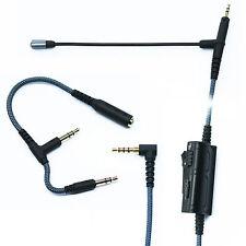 Boom mic Volume for gaming PS4 PC Xbox One PC to Sennheiser HD598 HD558 HD518