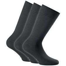 Rohner Cotton Business Men Socke black 3er Pack Businesssocke
