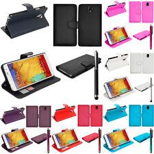 Schutz Hülle für Samsung Galaxy Note 3 Neo 7505 Lite Duos Handy Brieftasche Flip