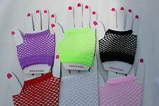 Wrist length fishnet gloves 10cm 6 colors party/Christmas