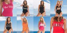 SportFX Swimsuit Size 8 10 12 14 16 18 20 22 NEW Costume Swim Singe Swearing