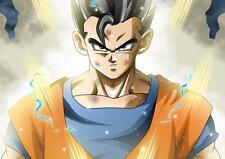Dragon Ball Z Goku Cartel pared arte Foto impresión foto Cartel De DVD A4 A3
