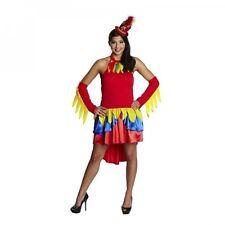 Papageienkleid - Größe: 34 - 42 - ohne Kopfbedeckung