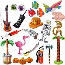 * AUFBLASBARE DEKO * MEGA AUSWAHL: Tiere Halloween Party Musik Kindergeburtstag