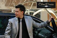 Herrenanzug Hochzeitsanzug 3 teilig EDEL silber GRAU TOP ANGEBOT!!!NEU