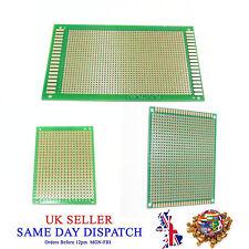 Foré Single Sided Copper Prototype PCB matrice Epoxy Fiber Glass Board
