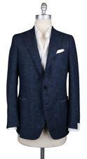 New $3900 Luigi Borrelli Navy Blue Sportcoat - (LBSPT212170)
