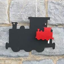 Chalk Blackboard Steam Train Shape- Memos & Notes for Home Decor