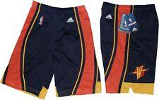Golden State Warriors Adidas Youth Swingman Navy Throwback Shorts Boys 8-20