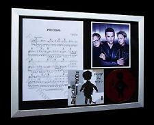 DEPECHE MODE Precious LTD Numbered CD FRAMED DISPLAY!!