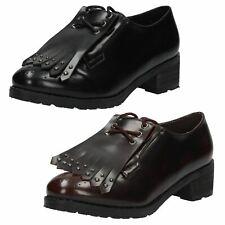Donna F9818 NERO O BORDEAUX sintetico con lacci scarpe da spot on offerta