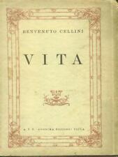 VITA BIOGRAFIE BENVENUTO CELLINI ANONIMA EDIZIONI VIOLA 1942,